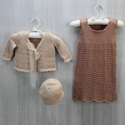 Hand Knitting Tutorials: Cotton Soft Baby Jumper ...