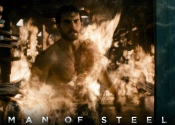 Man of Steel (2013) Henry Cavill's On Fire #ManofSteel #film