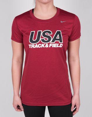Product image: Nike USATF Women's Legend Short Sleeve