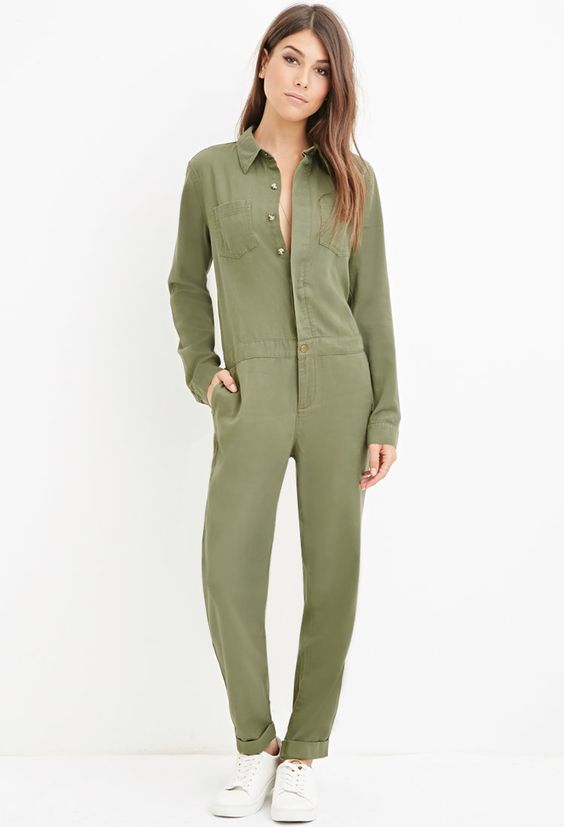 Image result for Pernille Jazzed Up a Utility Jumpsuit With Pink Pumps