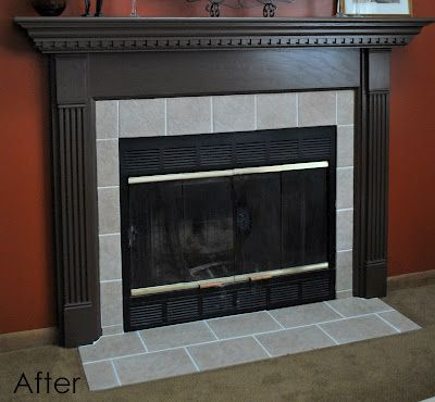 Retile Fireplace Surround
