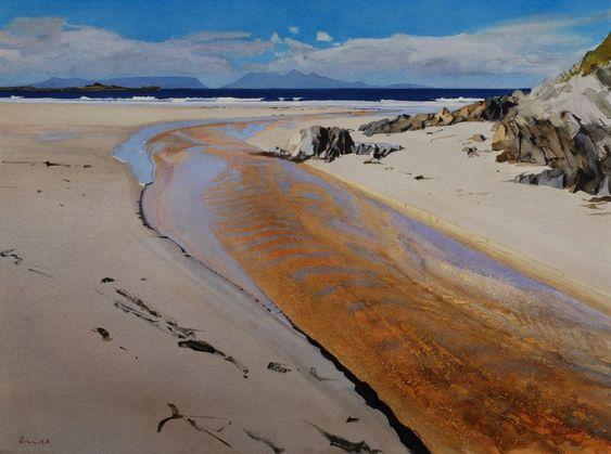 Beach River, Camusdarach, Arisaig: