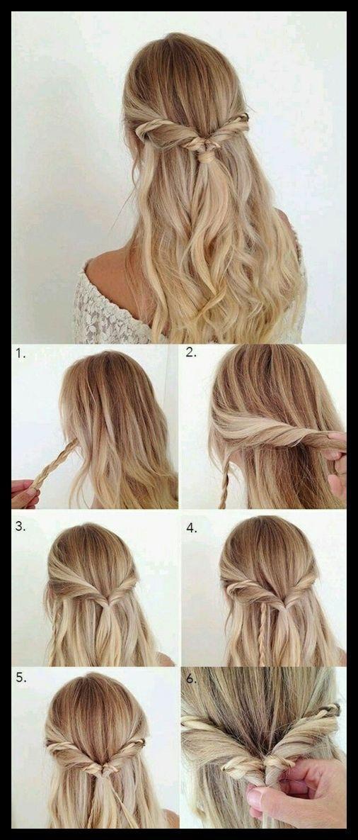 1001 Ideen Fur Schone Haarfrisuren Plus Anleitungen Zum Schone Frisuren Beau Leichte Frisuren Lange Haare Haare Einfach Flechten Frisur Hochgesteckt