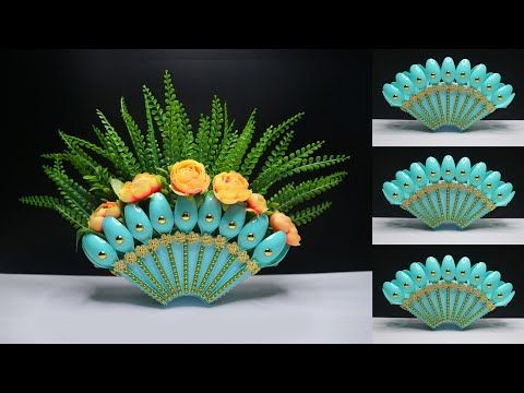 Ide Kreatif Vas Bunga Dari Sendok Plastik Bekas Kreasi Barang Bekas Plastic Spoon Flower Vase Youtube Di 2020 Kreatif Bunga Ide