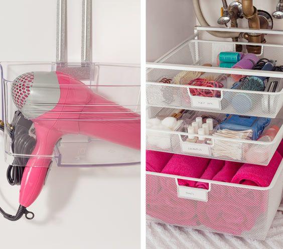 Small Bathroom Organizing Ideas: Sinks, Bathroom And Under Sink On Pinterest