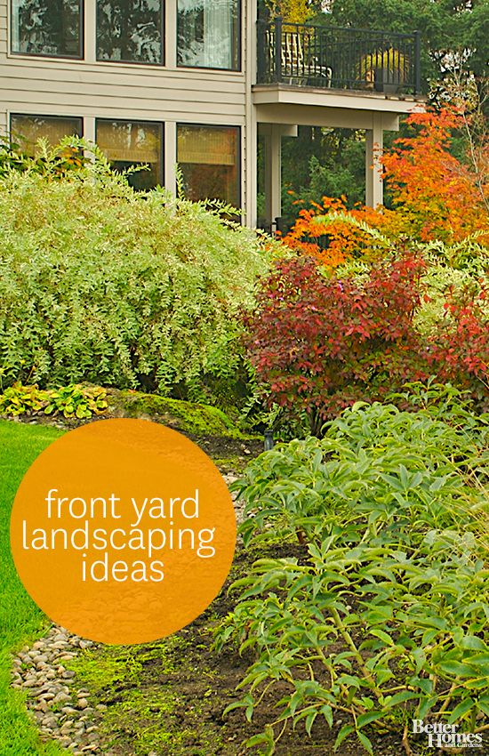 Yard Landscaping Basics : Landscaping ideas for the front yard yards home