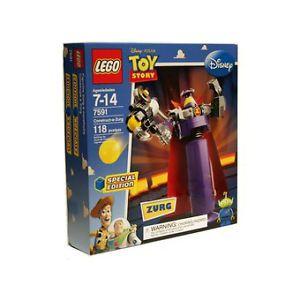 Lego 7591 Disney Toy Story 3 Construct A Zurg Emperor Alien Minifigure 7591 673419130882 | eBay