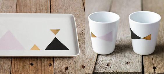 this collection by Asleep From Day...: Kitchen, Applied Patterns, Design, Patterns Tableware