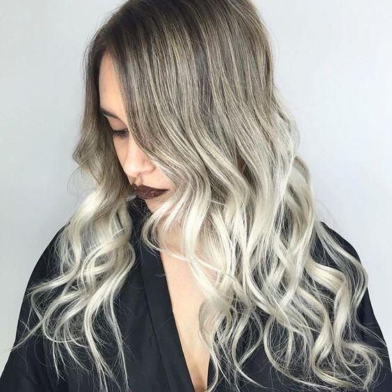 Balayage hair dye at home