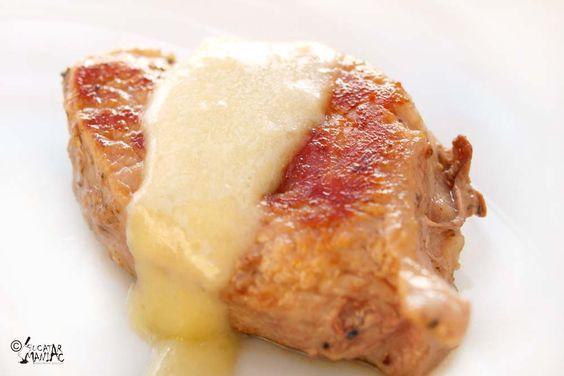 medalion de porc,muschiulet de porc,muschi de porc,porc cu sos gorgonzola