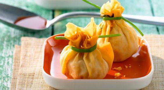 Spicy Thai Rolls With Shrimp