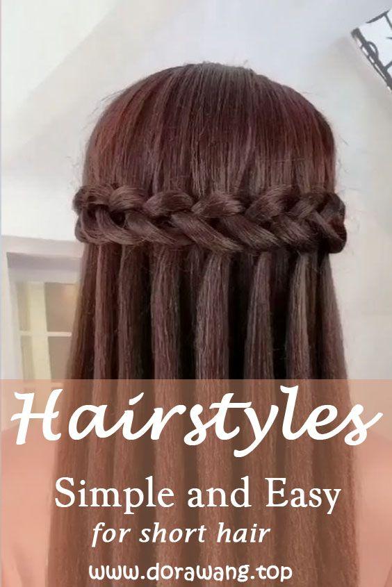 Hairstyles For Long Hair Video Tutorial Part 2 Dorawang Blog In 2020 Long Hair Video Hair Videos Tutorials Hair Videos