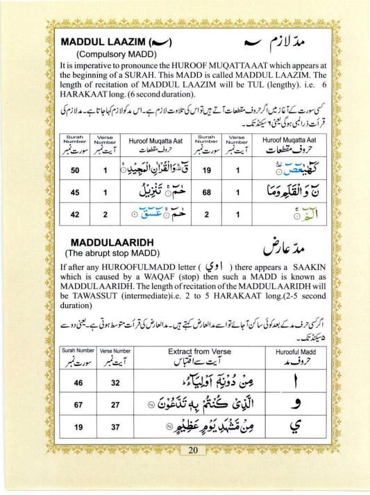 The Holy Quran (Colour Coded Tajweed Rules) : Free Download