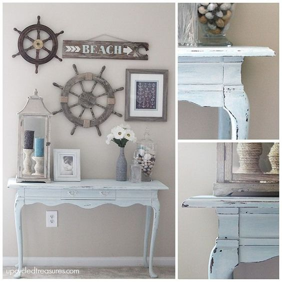 Beach Inspired Makeover :: Upcycled Treasures