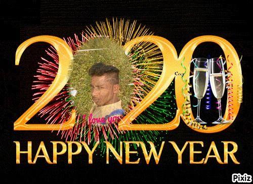 Cc Feliz Ano Nuevo 2020 With Images Photomontage Feliz Montage