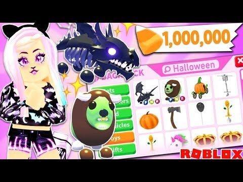 Adopt Me Brand New Update Buying All New Halloween Items Pets Huge Robux Spending Spree Youtube In 2020 Halloween Update Halloween Items Halloween