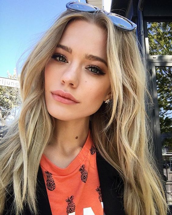 Model Haircut : Model hairstyles, Wave hairstyles and Beach blonde on Pinterest