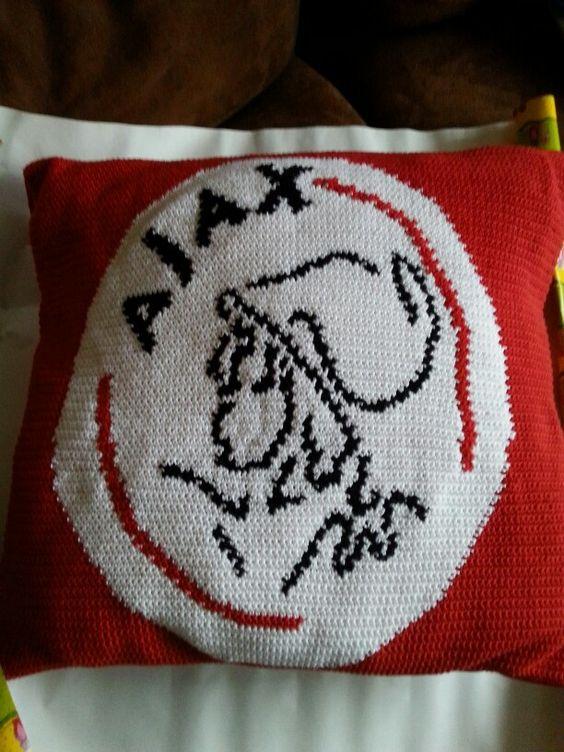 Ajax kussen haken en breien pinterest for Ajax kussen