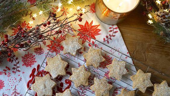 Christmas Shortbread Stars - Tanya Burr