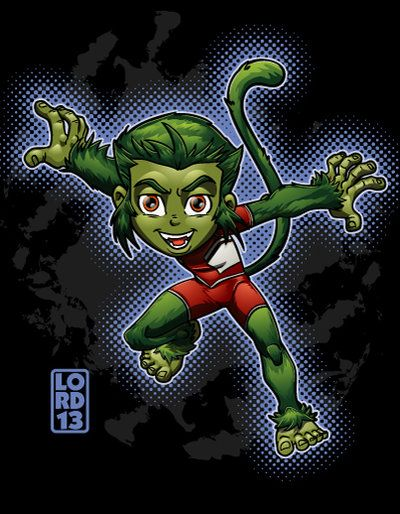 Young Justice Invasion- Beast Boy by lordmesa on deviantART
