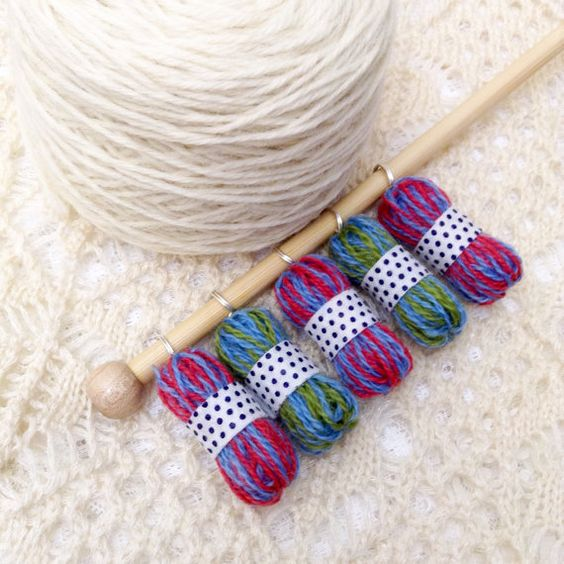Crochet Stitch Markers Diy : explore crocheted dolles crochet and knitting and more stitch markers ...