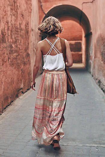 Daybreak Maxi Skirt