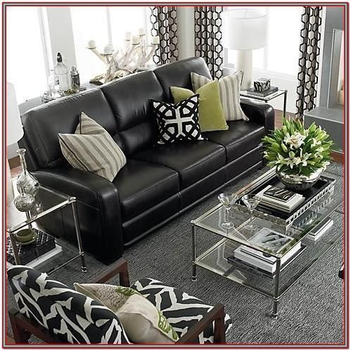 Living Room Decor Black Couch By Jessica Turner Check More At Https Www Livasperiklis In 2020 Black Leather Couch Living Room Leather Couches Living Room Couch Decor