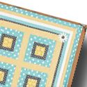 Four Quilted Table Toppers from Fons & Porter's Love of Quilting.  March/April 2012 issue.