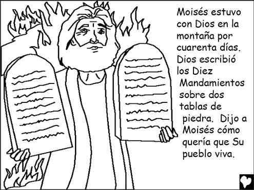 Los 10 Mandamientos Diario Catolico Laus Deo En 2021 Los Diez Mandamientos Los 10 Mandamientos Moises Y Los Diez Mandamientos