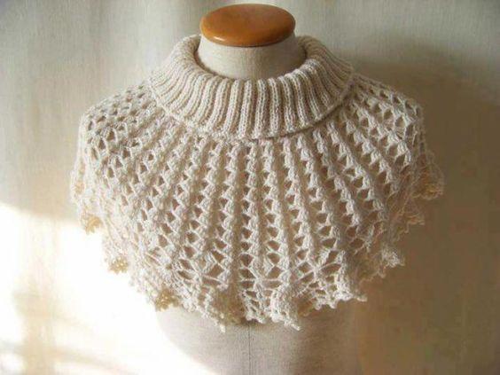 Bufandas Ponchos, Crochet Bufandas, Gorros, Cuellos Tejidos A Crochet, Ruanas, Chompas, Bordados, Elegante Capucha, Capucha Blanca