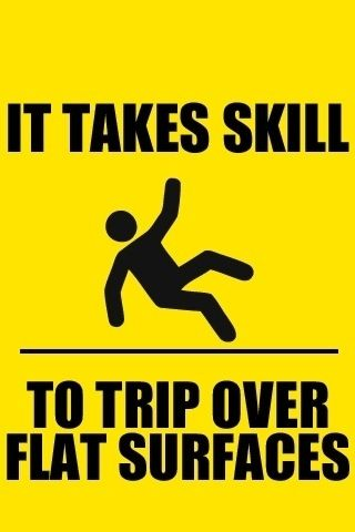 I must have all kind of skill then....
