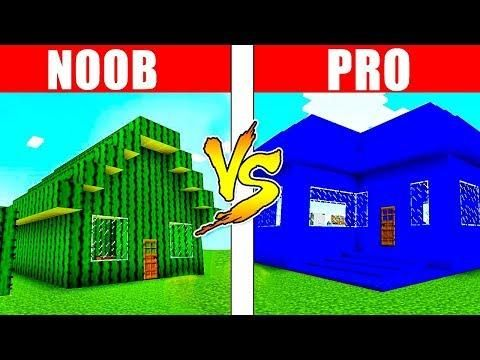 Minecraft Noob Vs Pro House Battle In Real Life Minecraft Animation Realistic Minecraft Irl Noob Real Life Minecraft