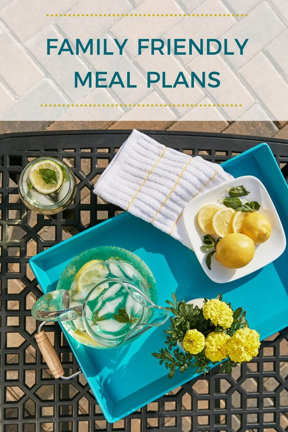 family friendly meal plans 6th June