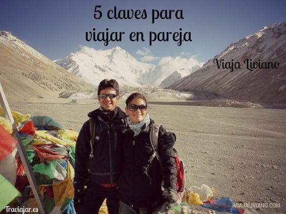 La pareja de Viaja Liviano nos presentan hoy sus 5 claves para viajar en pareja. Ellos llevan muchos años disfrutando de su relación y de su pasión por los viajes....