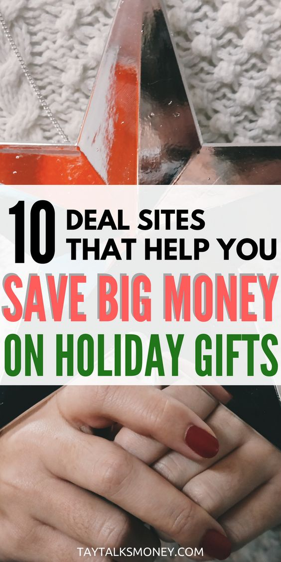 The holidays are right around the corner and there's no need to go broke on gifts. Use these sites to snag deals and cash back from spending.