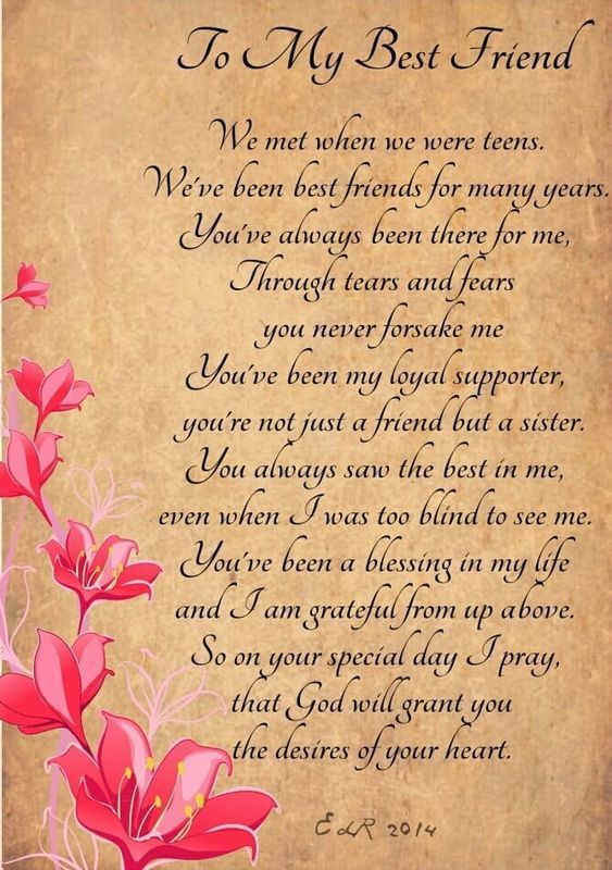 Best Bday Poem For Friend On Imgs Happybirthdayquotes Happy Birthday Quotes For Friends Happy Birthday Best Friend Quotes Birthday Poem For Friend
