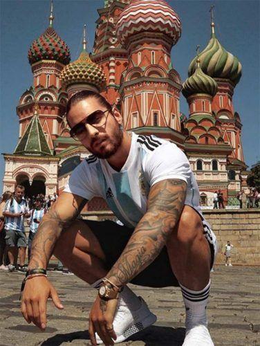 A Maluma le roban en Moscú y vacían su cuarto de hotel
