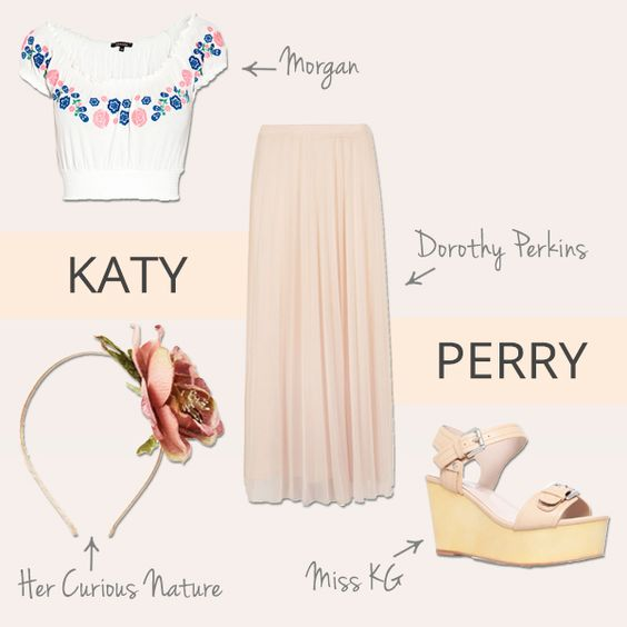 Planning to rock the festivals this season? Turn to Katy Perry for outfit inspiration...