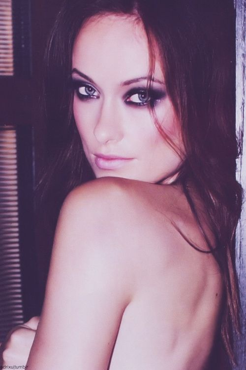 Olivia Wilde - great makeup for a boudoir session