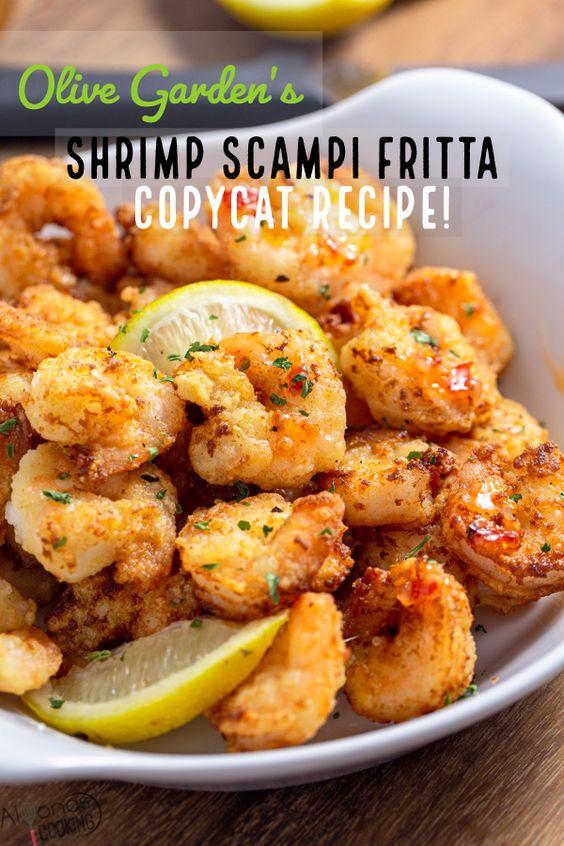 Shrimp Scampi Fritta Recipe (Olive Garden Copycat!)