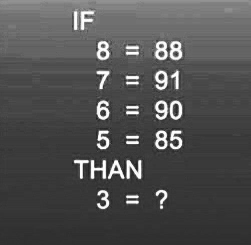 Find Out The Missing Number Brain Teasers With Answers Brain Teasers Brain Teaser Questions