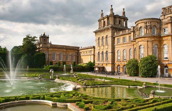 palaces dans le monde | Le palais de Blenheim : la merveille baroque de…