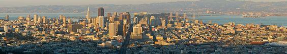 Downtown San Francisco, seen from Twin Peaks, in October 2006.dusk MC - San Francisco - Wikipedia, the free encyclopedia