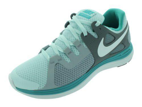 Nike Women's NIKE LUNARFLASH+ WMNS RUNNING SHOES 8 Women US  (FIBERGLASS/SMMT WHT/SPRT TRQ/CL G) Nike,http://www.amazon .com/dp/B0098JQIEQ/ref=cm_sw_…