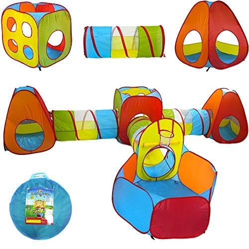 Playz Ball Pit, Play Tent and Tunnels for Kids, Gift for