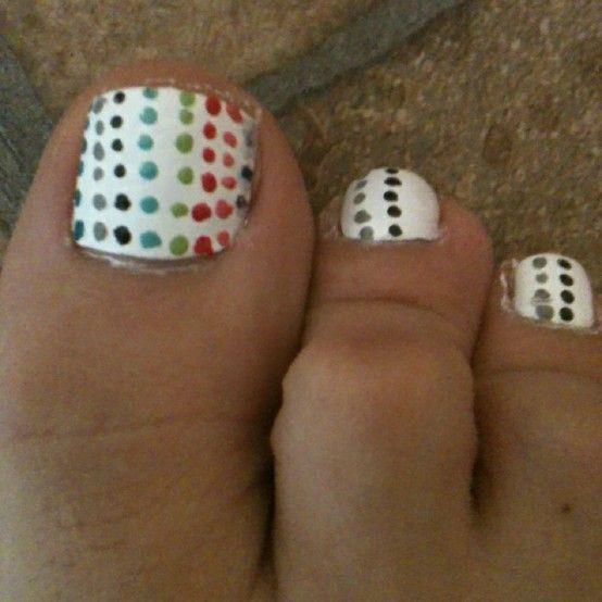 Toe nails:)!
