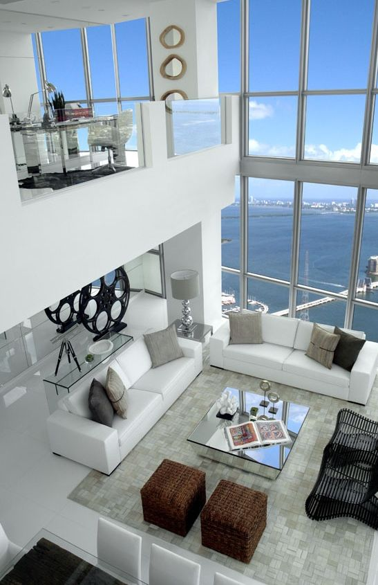 20 of the best sea view penthouses in the world exterior for Sea interior design ideas