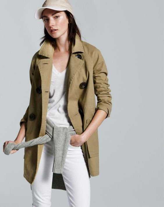 January Style Guide sneak peek: (Love what you see? Our very Personal Stylist team can help you pre-order the peacoat trench before it becomes available on Friday December 27.) Call 800 261 7422 or email erica@jcrew.com.