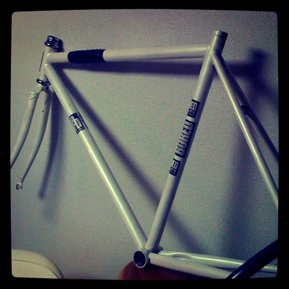 My first track frame