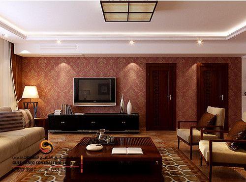تركيب ورق جدران ورق حائط خيالي ومميز Asian Interior Design Interior Design Career 3d Interior Design